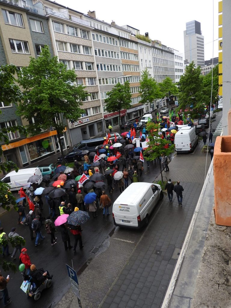 Demonstration Düsseldorf Heute