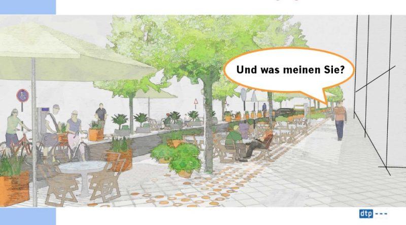 Jetzt nochmal nachdenken: über die Verschönerung der Bismarckstraße