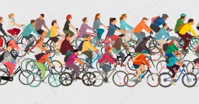 Wo bei uns im Viertel Fahrräder fahren sollen.