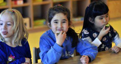 Japanische Kindergärten in Düsseldorf nutzen die Chance, die zwei Kulturen bieten.