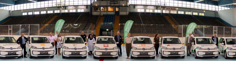 PSD Bank verschenkt acht VW up