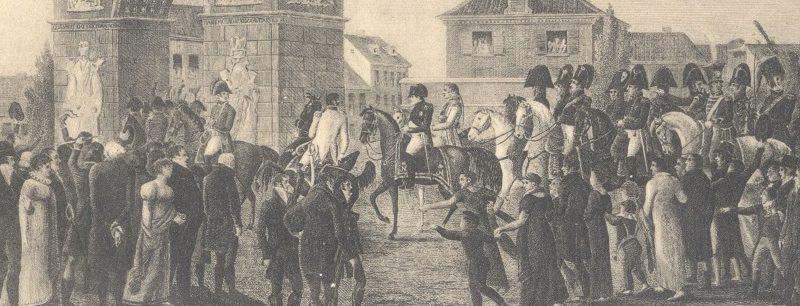 """Napoleon in Düsseldorf"""