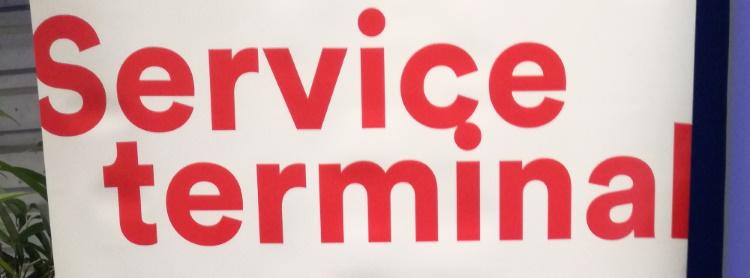 Serviceterminals jetzt auch in der Stadtsparkasse Düsseldorf nutzbar