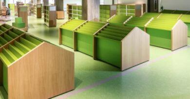 Das ist die neue Kinderbibliothek im KAP1: 780 Quadratmeter und viel Lesespaß